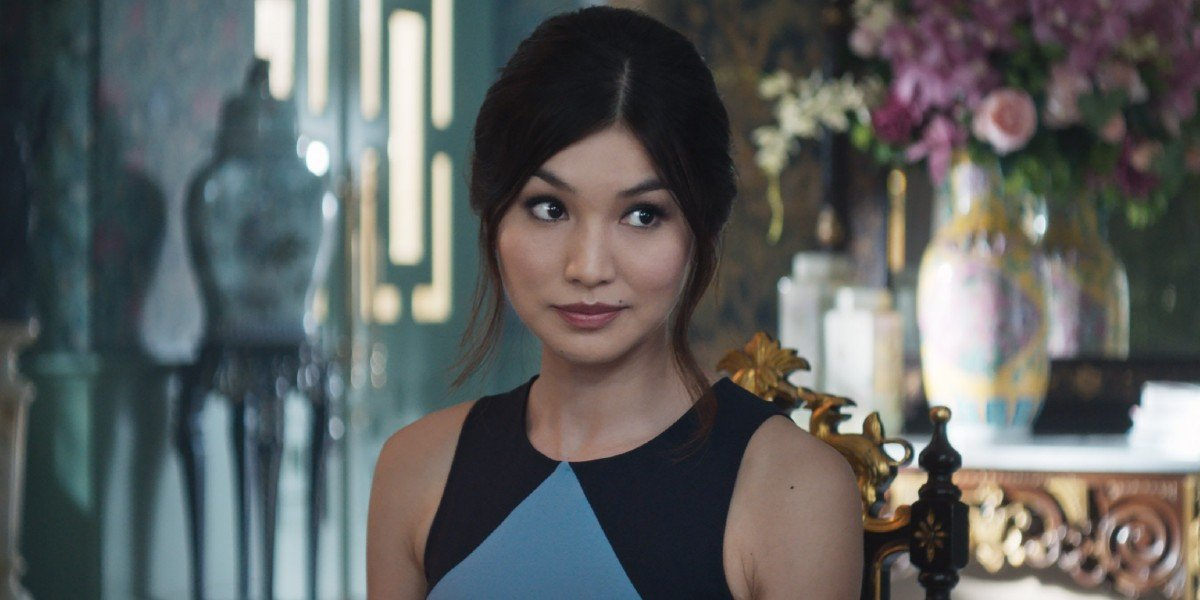 Gemma Chan as Astrid Young-Teo in Crazy Rich Asians (2018)