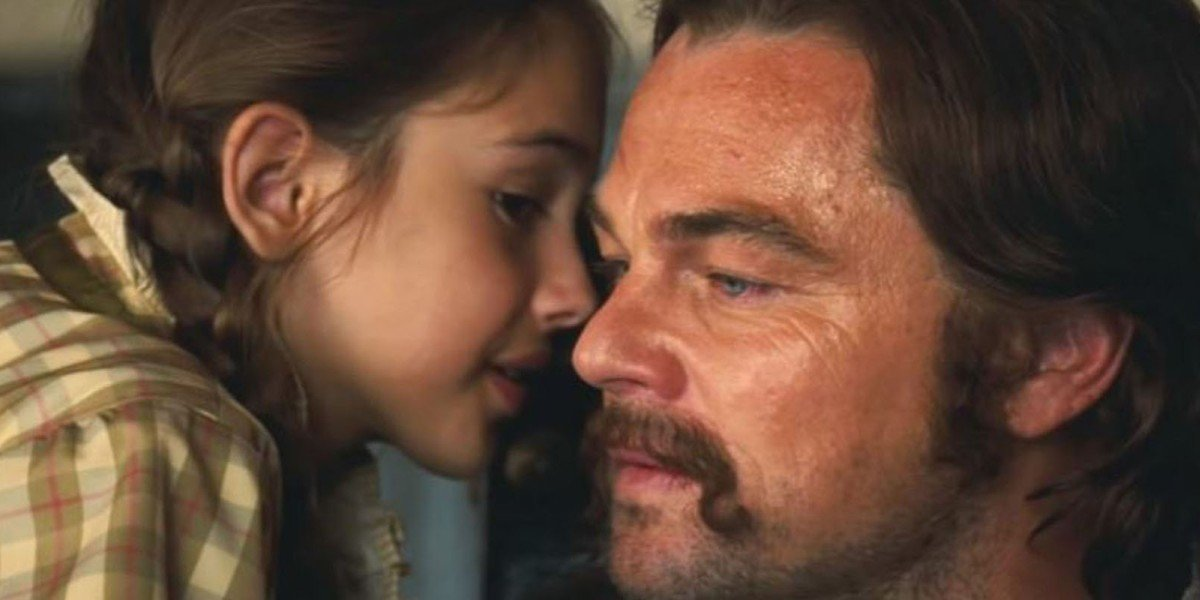 DiCaprio getting an earful in Once Upon A Time...In Hollywood