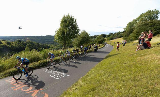 Box Hill, RideLondon-Surrey Classic 2013