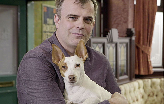 Coronation Street star Simon Gregson: 'Cookie is not like any Jack Russell you'll ever meet'