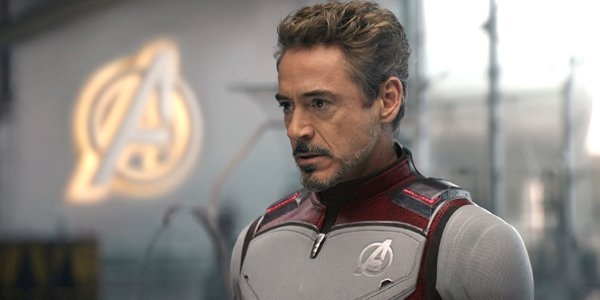 Avengers Endgame Tony Stark looks serious in his suit Marvel MCU