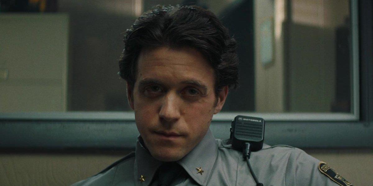 Ashley Zukerman as Sheriff Nick Goode in Fear Street Part One: 1994