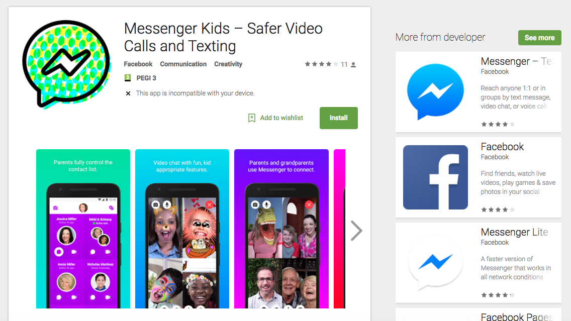 Facebook Messenger Kids is now available on Android | TechRadar