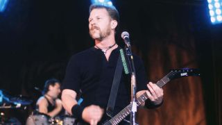 James Hetfield in 1996