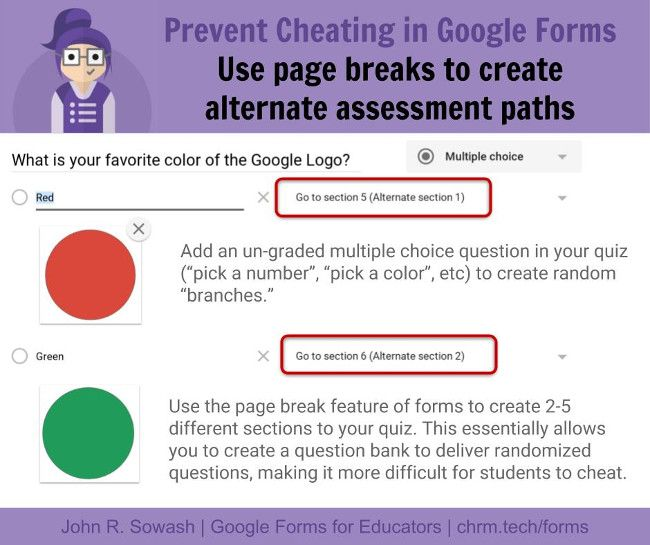 5 Ways To Prevent Cheating On Your Google Form Quiz Tech Learning