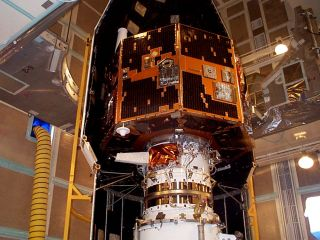 IMAGE spacecraft launch prep