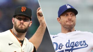 Alex Wood and Max Scherzer will take the mound in the giants vs dodgers live stream