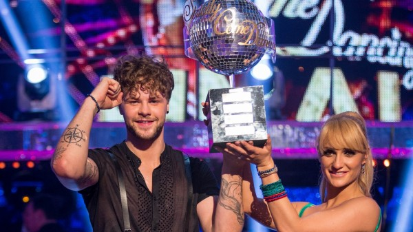 Strictly champions Jay McGuiness and Aliona Vilani