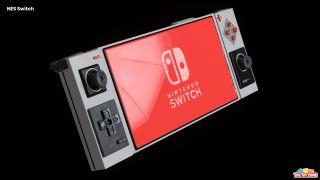 Nintendo Switch Pro concept