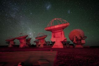 Alma Telescope Chile View