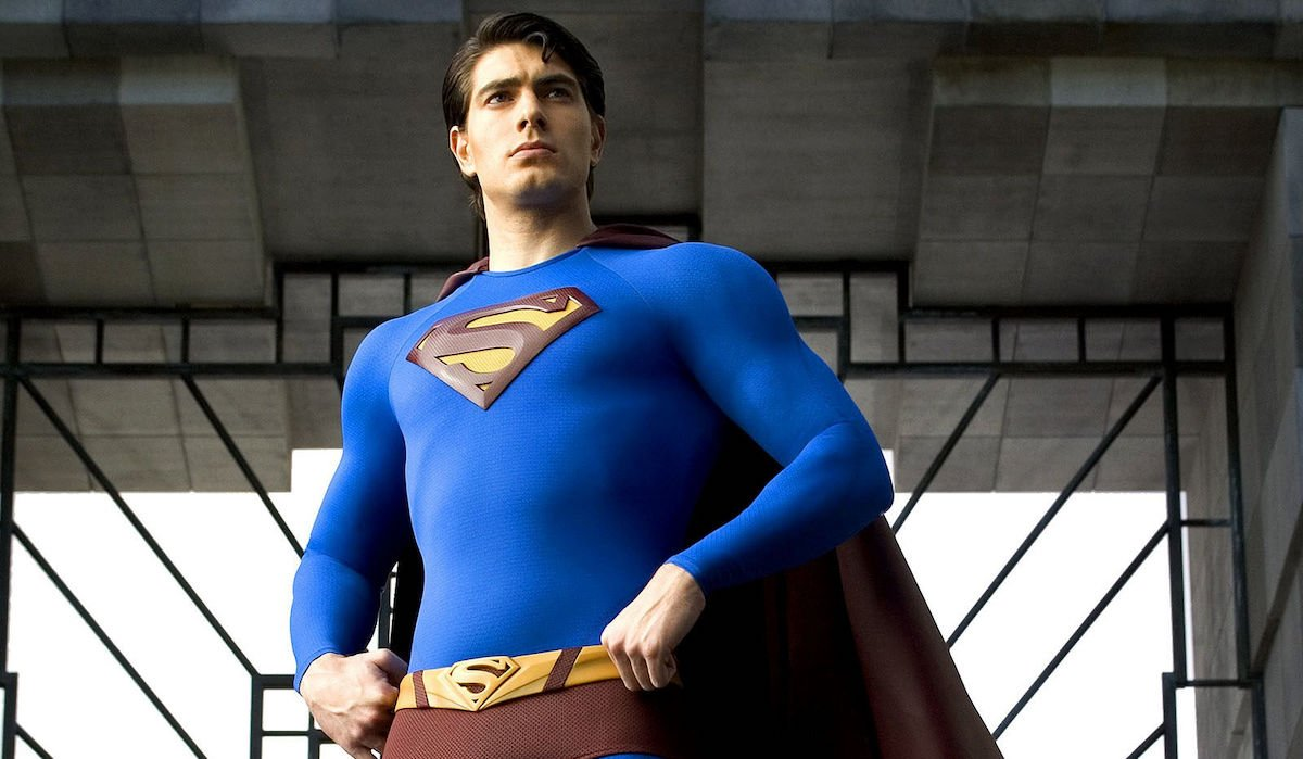 Brandon Routh in 2006's Superman Returns