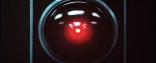 "HAL from ""2001: A Space Odyssey."""
