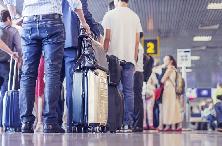 uk airport security waiting times revealed