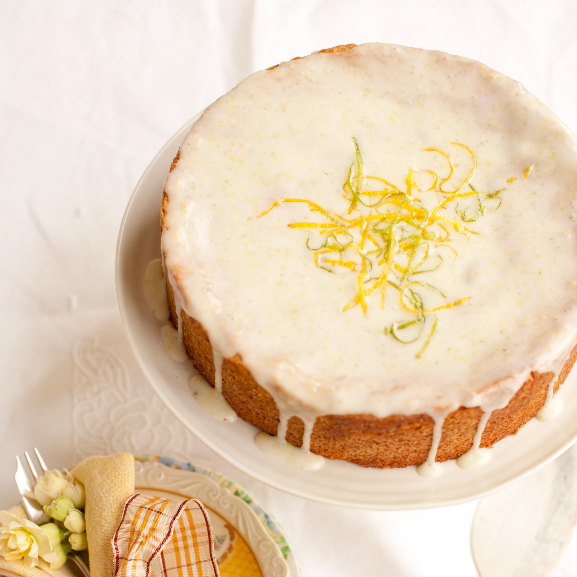 Lemon And Lime Drizzle Cake | Dessert Recipes | Woman&home