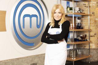 Celebrity MasterChef star Michelle Collins