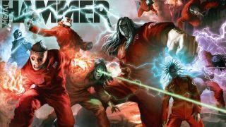 Metal Hammer's classic Slipknot Assemble cover