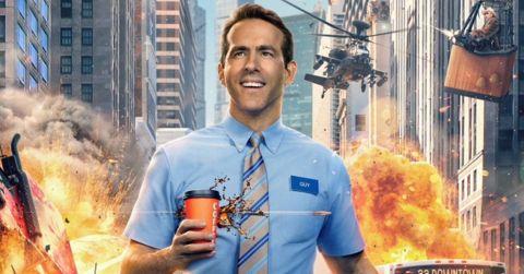 Ryan Reynolds as Guy in 'Free Guy.'