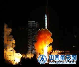 A Chinese Long March 3C rocket blasts off carrying China's first-ever robotic roundtrip mission to the moon. The mission launched on Oct. 24, 2014 local China time from the country's Xichang Satellite Launch Center.