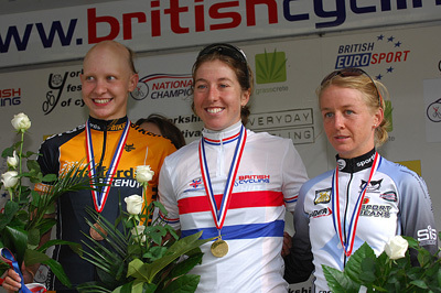 women's podium national championships 2008