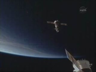 Traffic Heats Up at Space Station