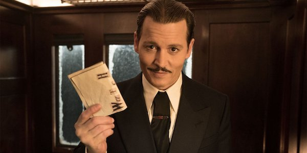 Johnny Depp Murder in the Orient Express