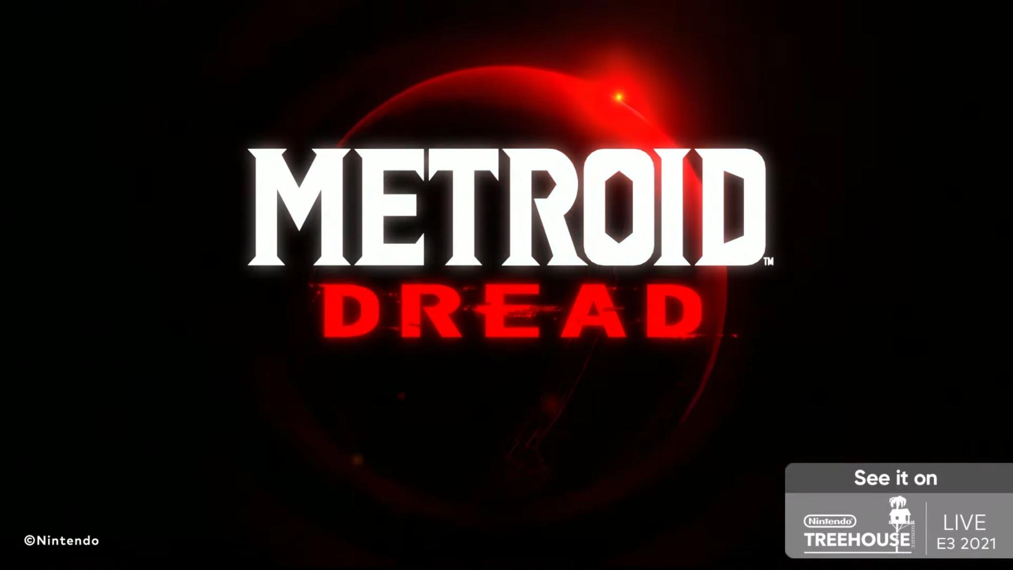 Metroid Dread Nintendo direct
