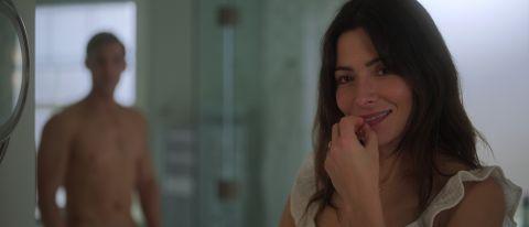 "Sarah Shahi as Billie in ""Sex/Life"" on Netflix."