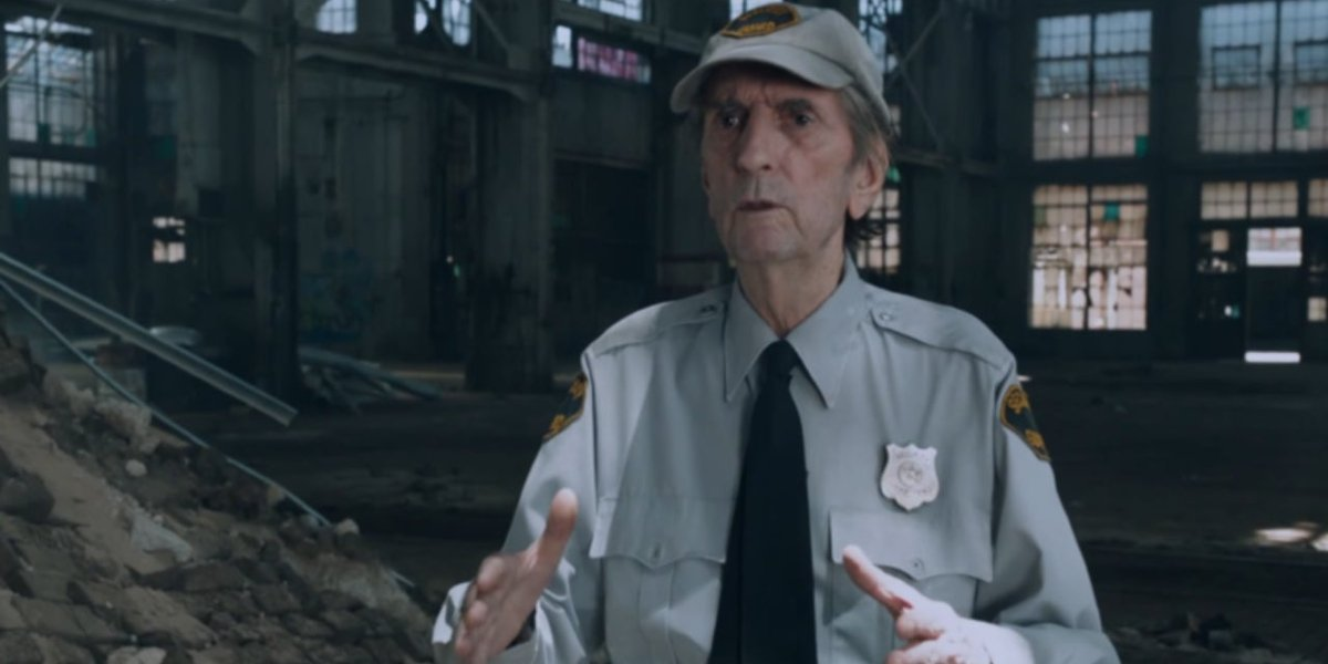 Harry Dean Stanton in The Avengers