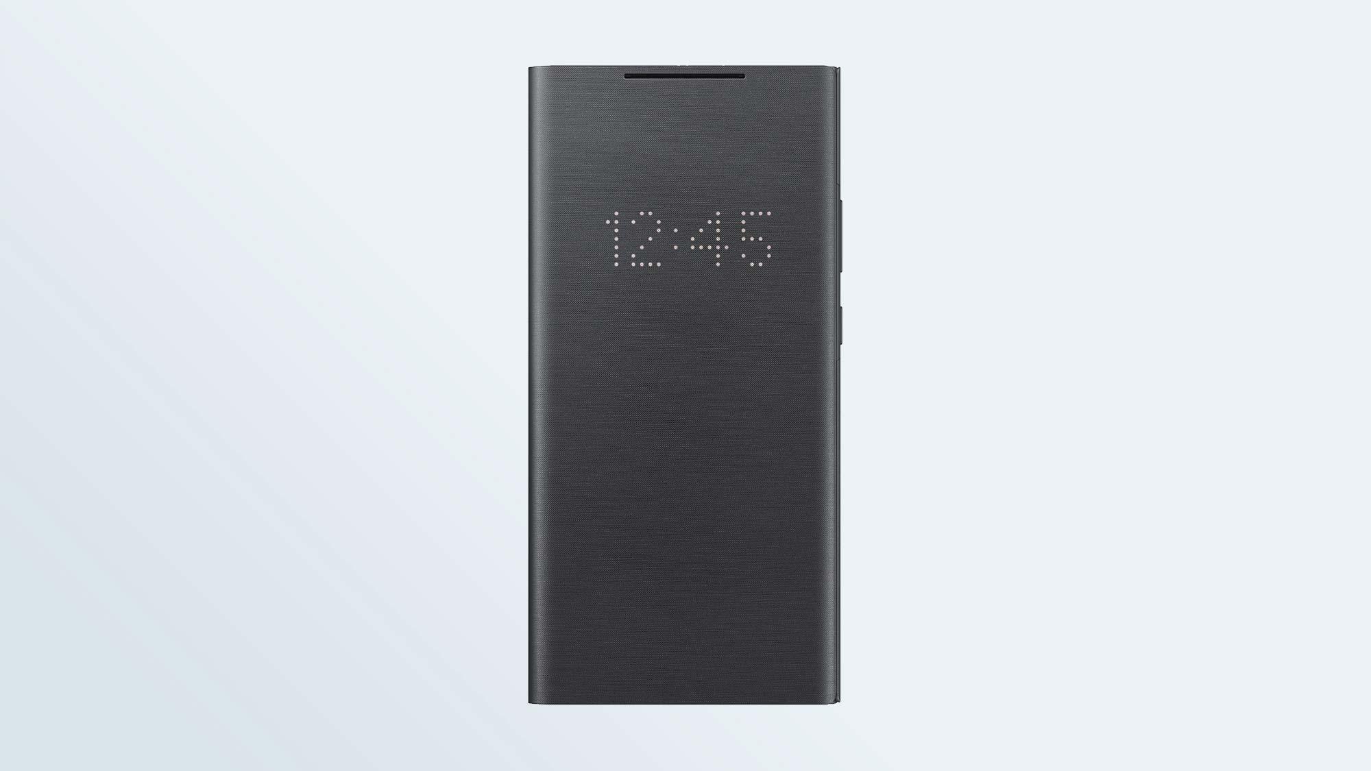Лучшие чехлы для Samsung Galaxy Note 20: чехол-кошелек для Galaxy Note 20 Ultra 5G со светодиодной подсветкой