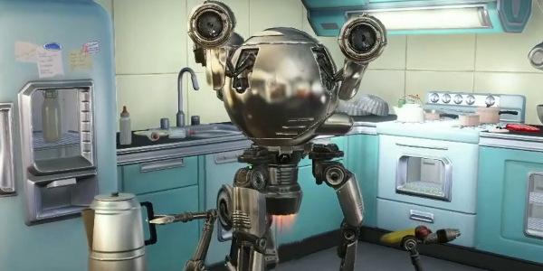 Fallout 4 fucker robot - 1 part 8