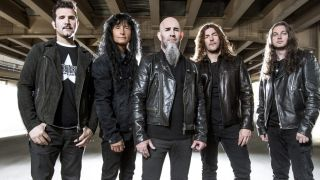 A promotional picture of Anthrax