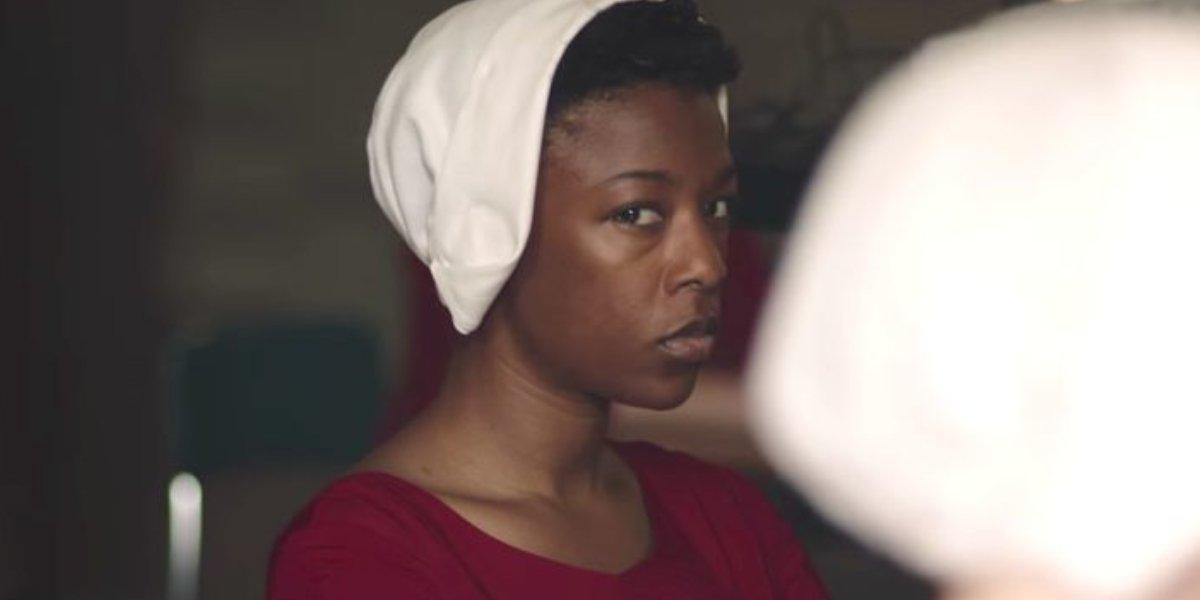 Samira Wiley as Moira Strand on The Handmaid's Tale