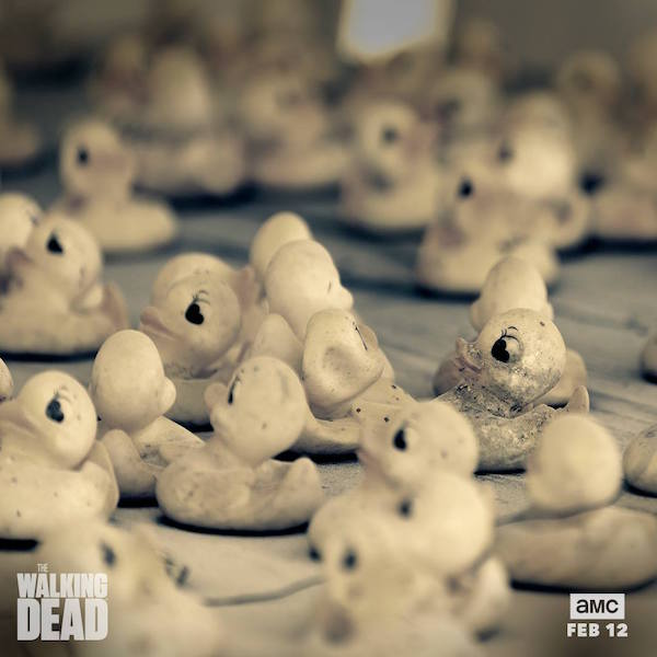 walking dead ducks