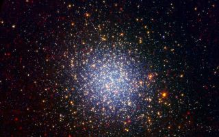 Omega Centauri Looks Radiant in Infrared