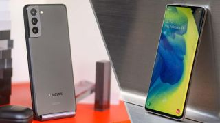Samsung Galaxy S21 vs. Galaxy S10