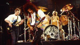 Queen at the Freddie Mercury Tribute Concert