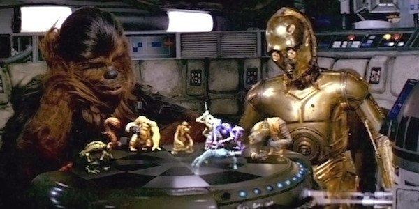 Dejarik Star Wars Chewbacca C-3PO