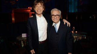 Mick Jagger and Martin Scorsese