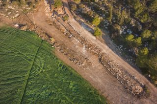 2,000-Year-Old Roman Road and Coins