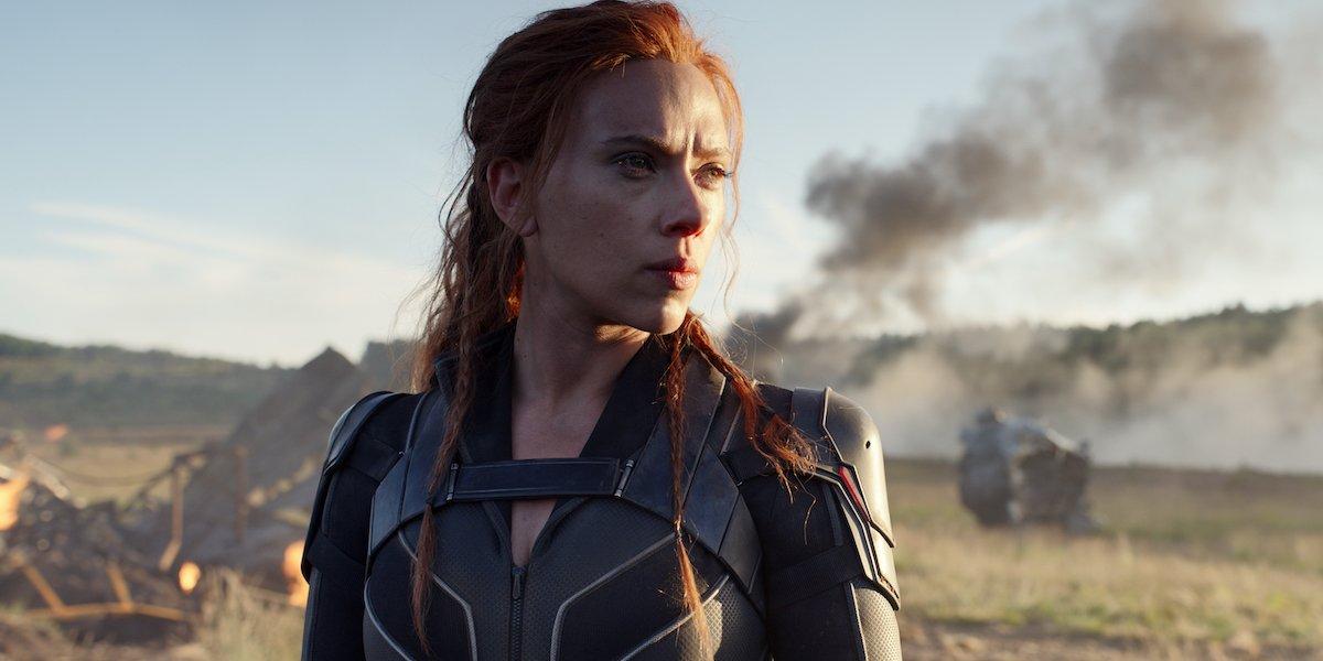 Scarlett Johansson in Black Widow movie