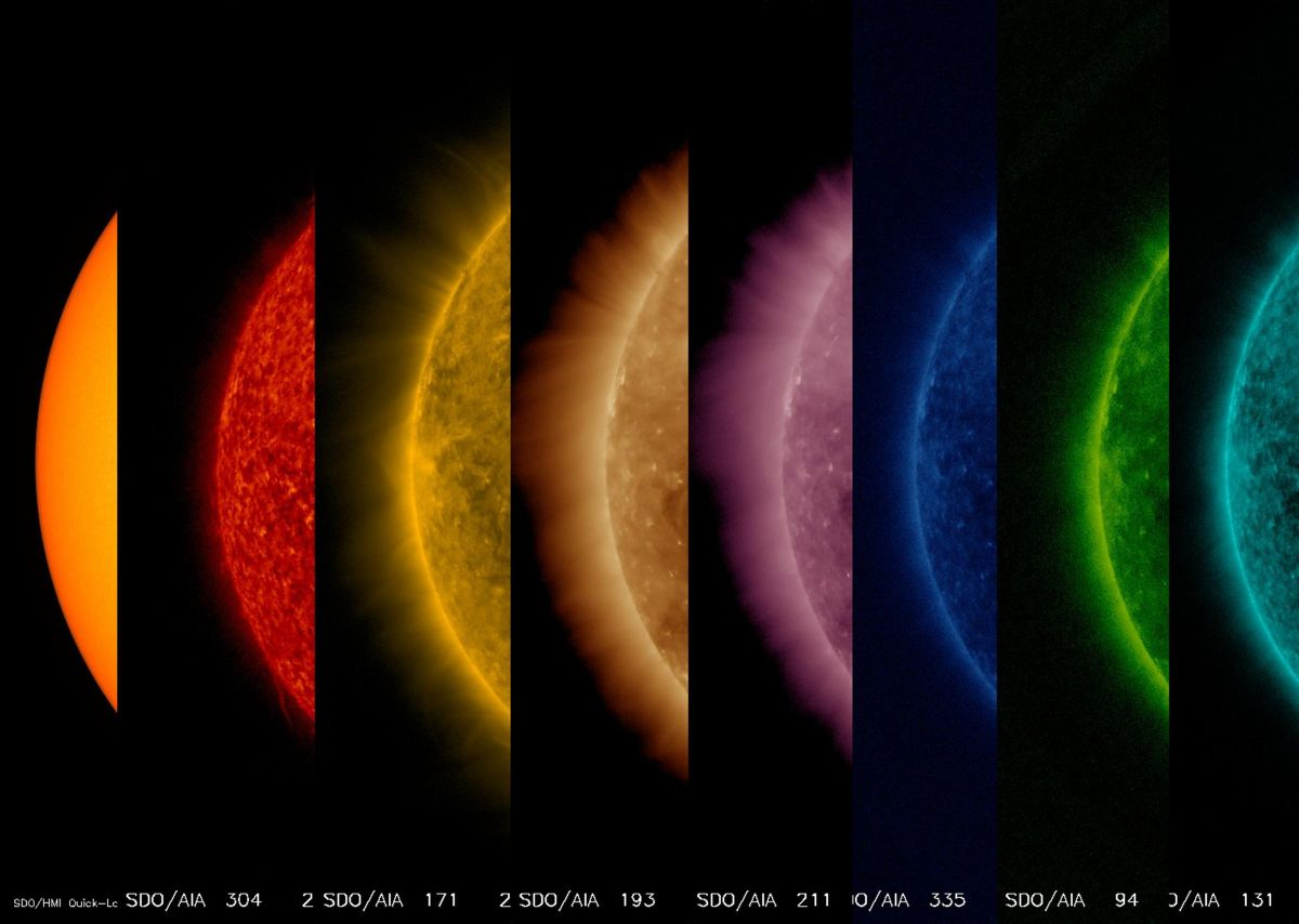 Hot Hotter Hottest See The Sun From Its Surface To Upper Atmosphere Space