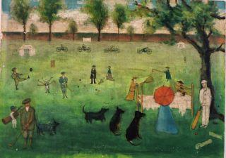 painting of York Retreat