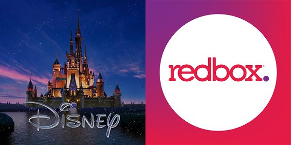 Disney and Redbox