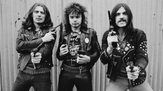 A photograph of Motorhead in the Overkill era