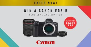 Win a Canon EOS R, RF 24-105mm lens and EF-EOS R adapter