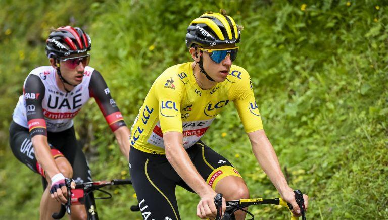 Tadej Pogačar on stage 18 of the Tour de France 2021