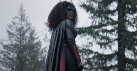 Javicia Leslie as Batwoman.