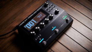 With all the processing power of the flagship GT-1000, could this become the next compact multi-effects/amp modeler du jour?