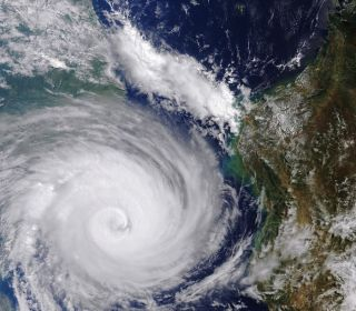 'Inland Oceans' from One of Southern Hemisphere's Worst Storms Seen from Space