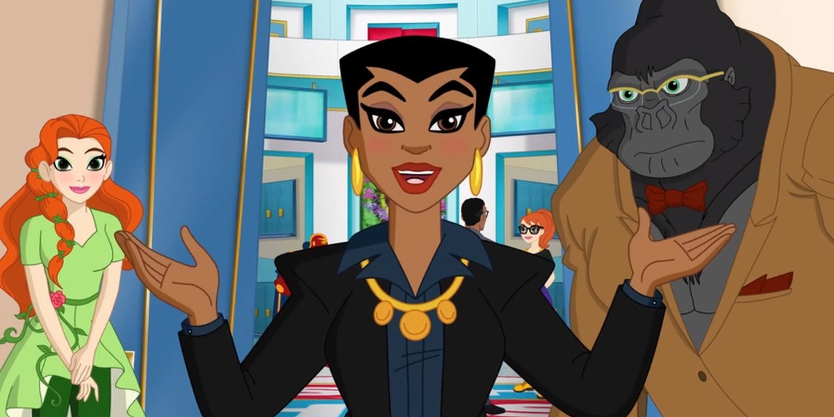 Yvette Nicole Brown as Amanda Waller on DC Super Hero Girls
